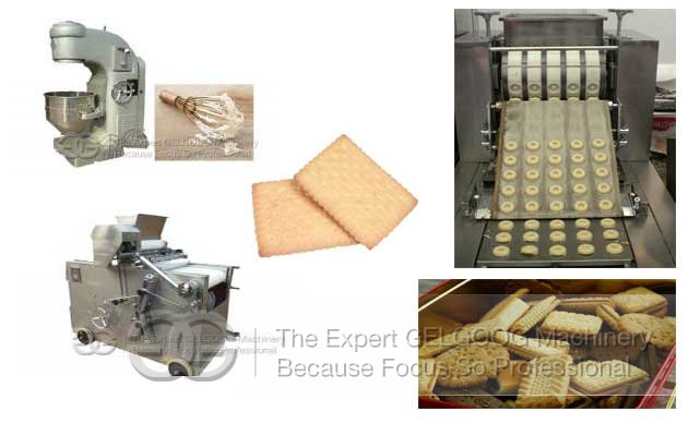 Commercial Cookies Biscuit Production Line