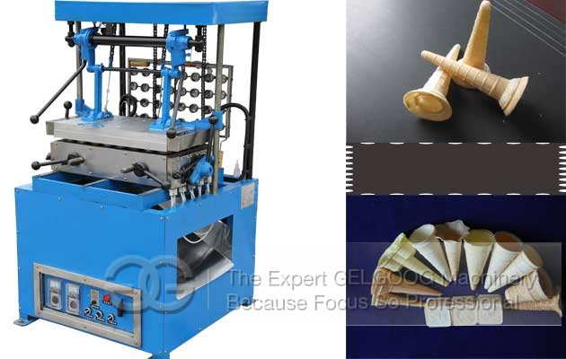 Ice Cream Cone Wafer Making Machine