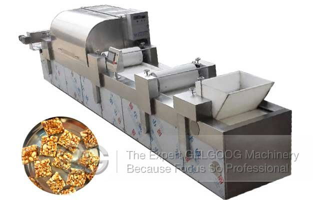 Peanut Chikki Making Machine|Peanut Candy Bar Maker Machine