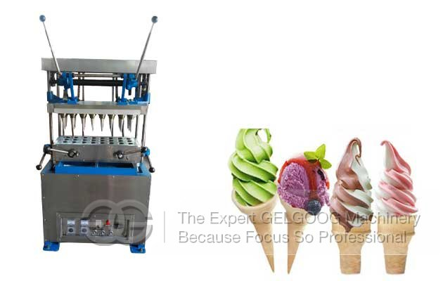 commercial ice cream cone making machine