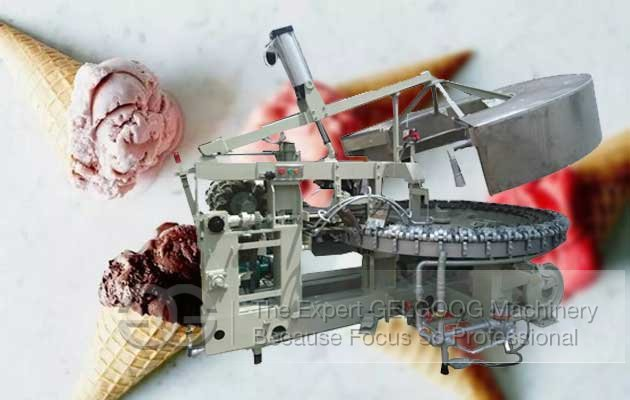 Rolled Cone Making Machine|Full Automatic Ice Cream Cone Making Machine