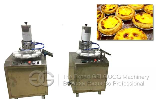 High Quality Egg Custard Tart Making Machine For Sale