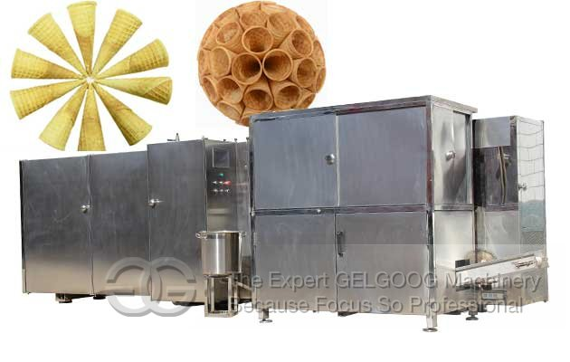 Ice Cream Cone Production Line|Sugar Cone Baking Machine