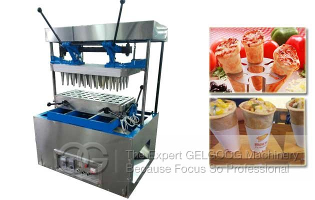 Cone Shaped Pasta Making Machine|Pizza Cone Equipment