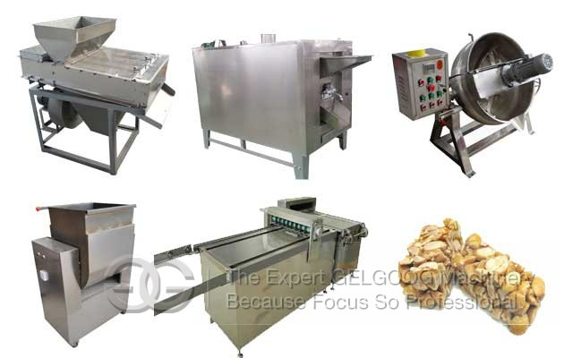Groundnut Chikki Making Machine|Peanut Candy Bar Machine Line