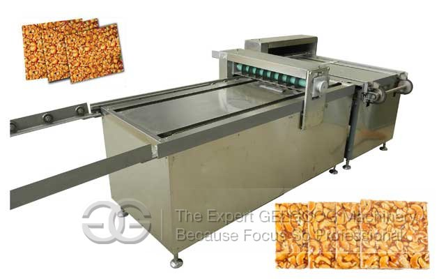 Automatic Peanut Candy Cutter Machine China|Sesame Brittle Making Machine