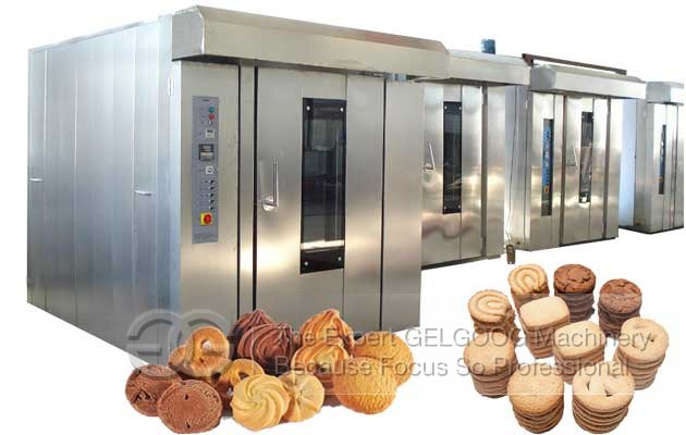 Commercial Electric Cookies Dough Baking Oven Machine Price