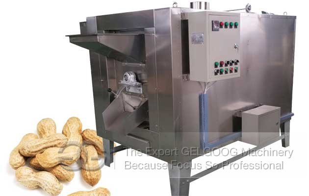 GGMHK-1 Automatic Peanut Roaster Machine For Sale