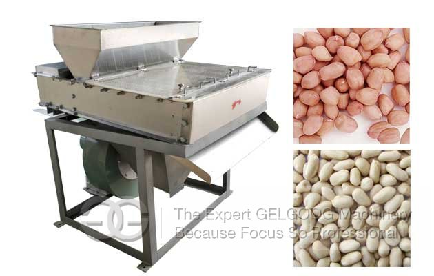 Commercial Peanut Skin Removing Machine in India