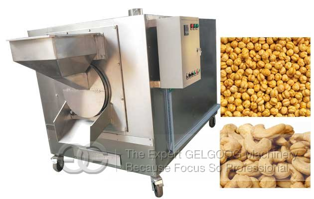 <b>Cashew Nut Roasting Machine Suppliers|Automatic Chana Roaster Plant</b>