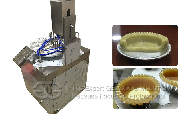 Automatic Egg Tart Shell Molding Machine 36PCS/Min