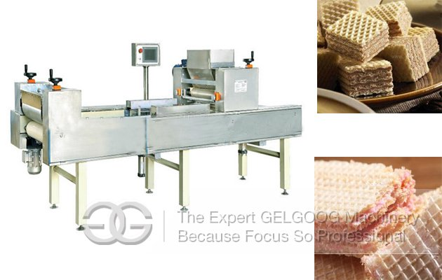 Automatic Wafer Cream Spreading Machine for Sale