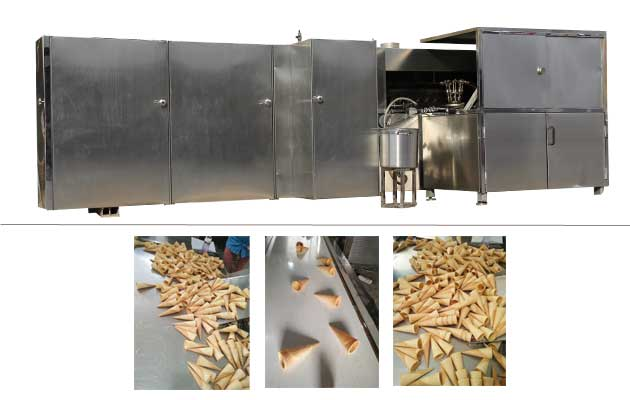 Automatic Waffle Cones Production Line Manufacturer