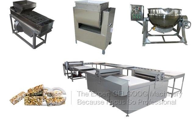 Commercial Peanut Brittle Production Line For Sale