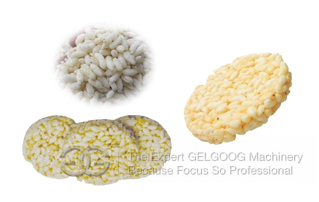 Puffed Rice Ball Product Line