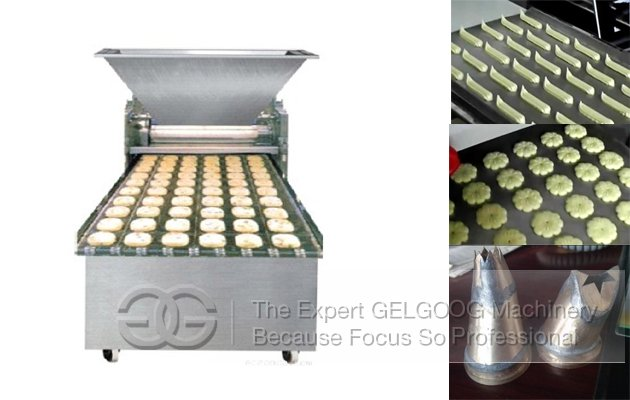 High Efficiency Comercial Cookies Making Machine