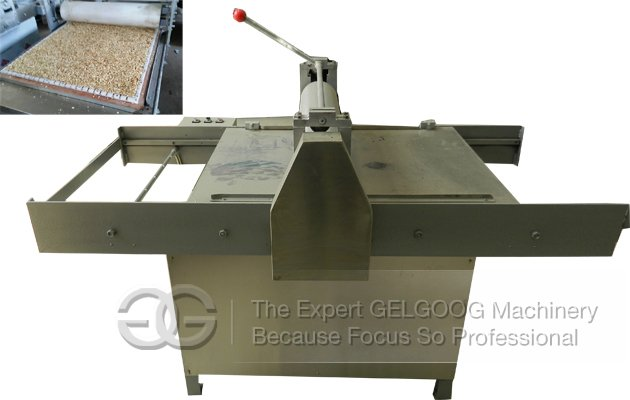 peanut candy cutting machine