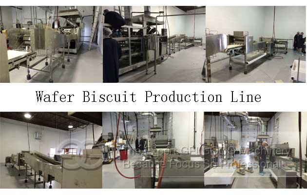 wafer biscuit making machine for sale
