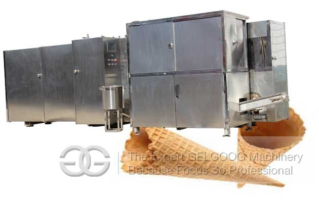 ice cream cone processing line