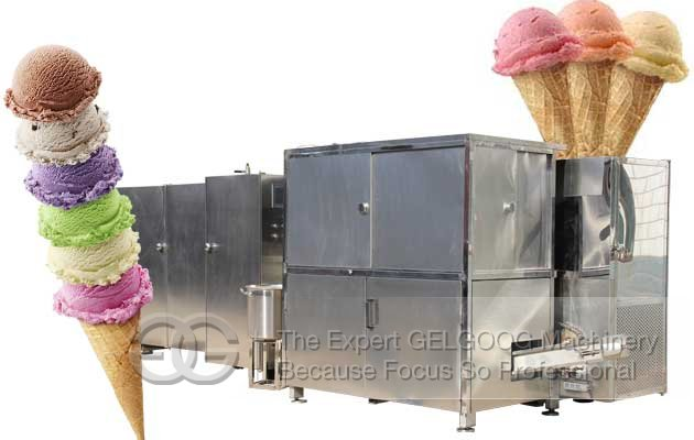 Ice Cream Cone Processing Line Supplier