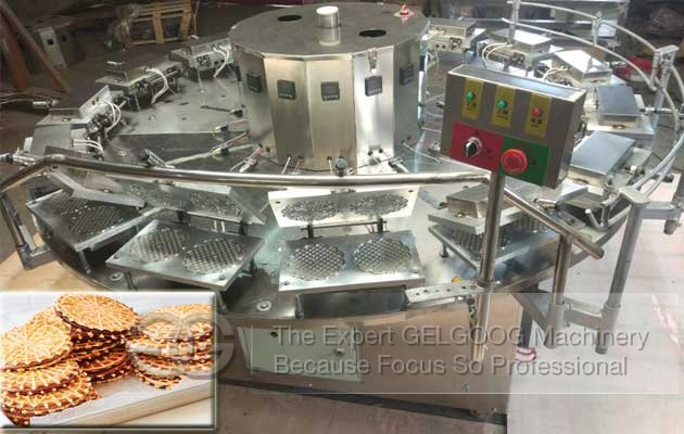 Automatic Pizzelle Cookies Making Machine