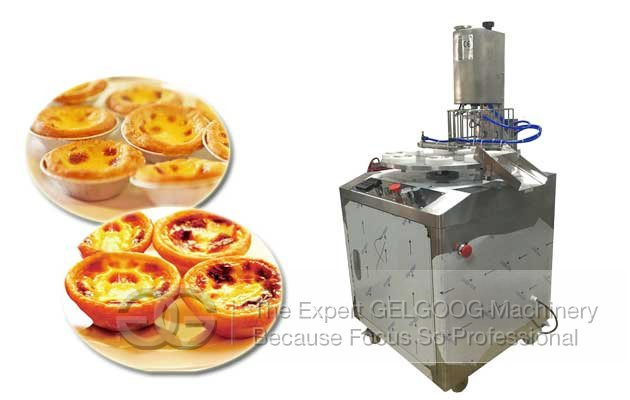 Automatic Egg Tart Skin Machine Manufacturer