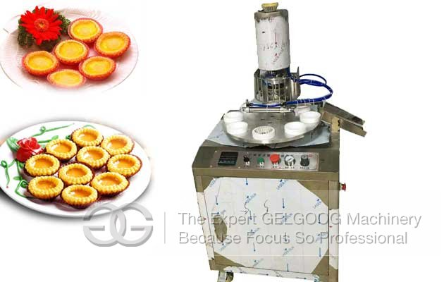 egg tart skin machine