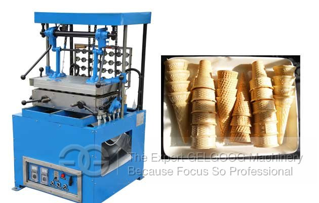 Hot Sale Ice Cream Cone Wafer Maker Machine Supplier