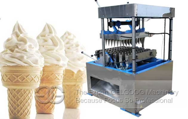 Automatic Ice Cream Cone Making Machine Production Process