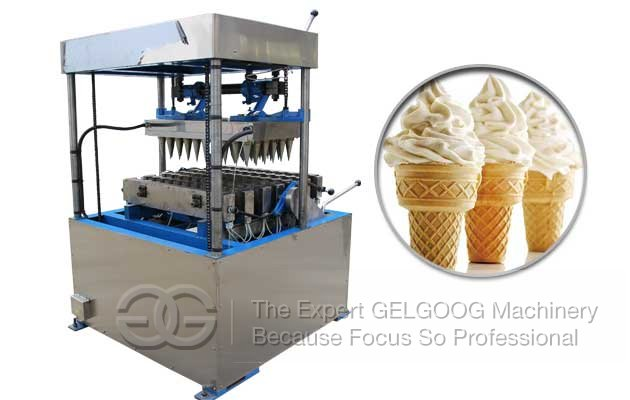 ice cream cone making machine production process