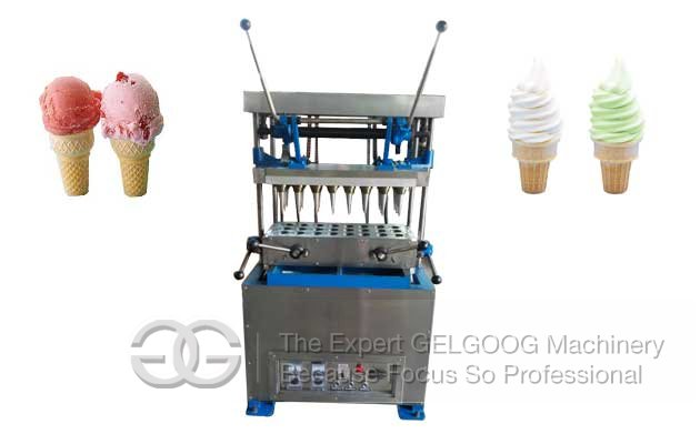 wafer cone making machine|ice cream cone making machine
