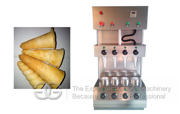 pizza cone maker machine