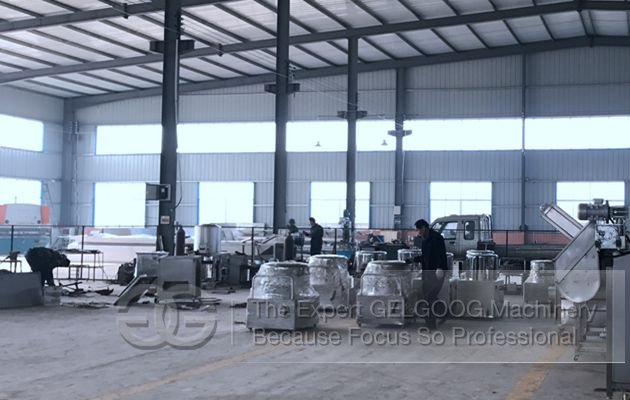 food processing machine factory
