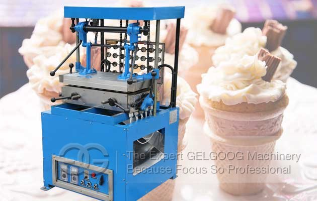 wafer cone making machine