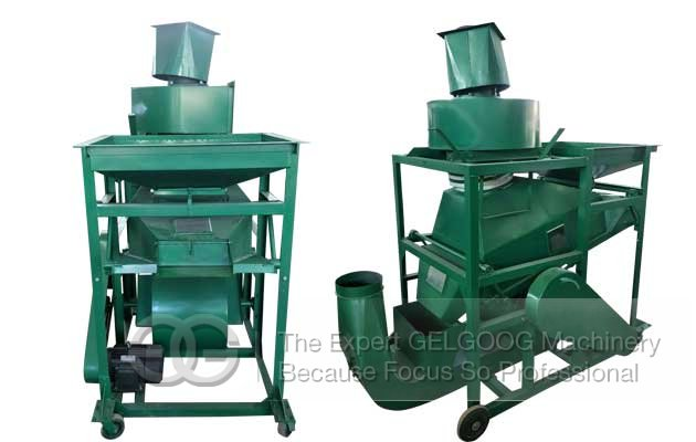 peanut cleaning and shelling machine