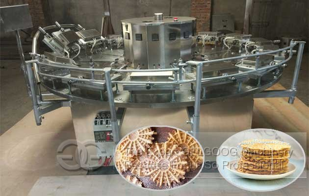 pizzelle baking machine