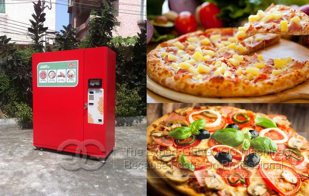 Commercial Pizza Vending Equipment Manufacturer