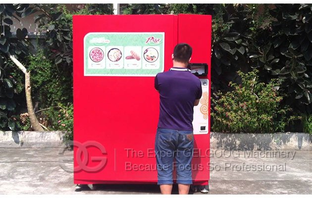 pizza vending equipment