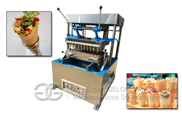 Electrical Conveyor Cone Pizza Machine|Italian Pizza Cone Maker