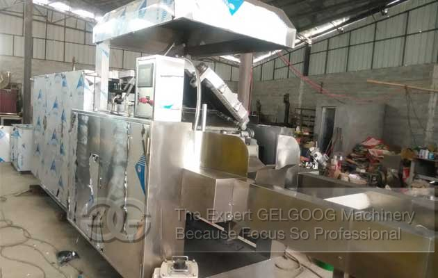 wafer biscuit heating oven