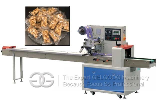 machine packing peanut candy