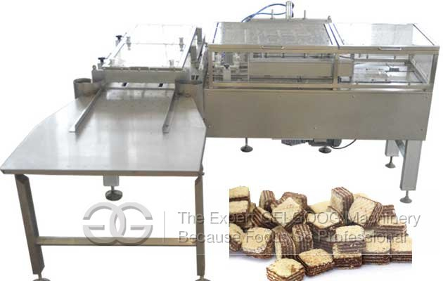 cutting machine for wafer biscuits