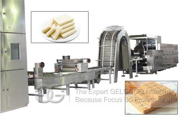 Industrial Wafer Stick Production Line Factory|Chocolate Wafer Biscuit Machine