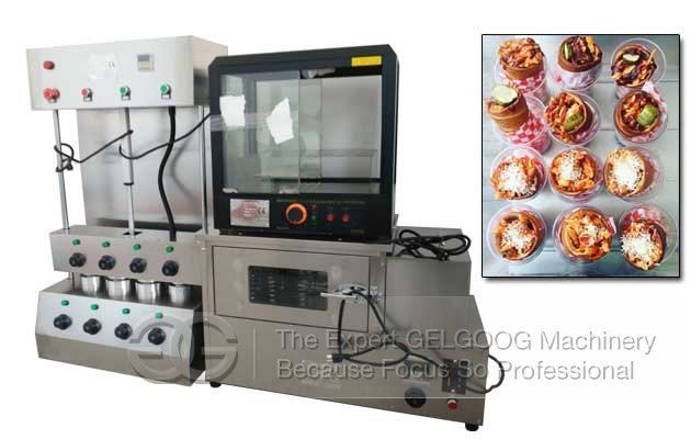 commercial pizza cone forming machine