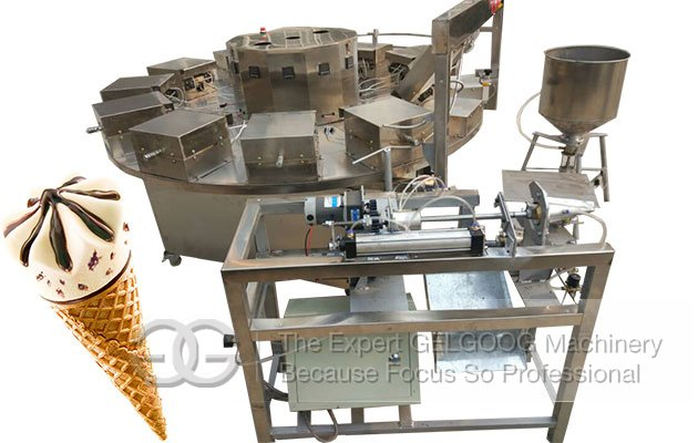Sugar Cone Baking Machine